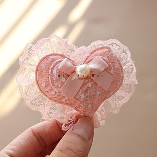 SushiSwap Love Free shipping / New Heart Shape 3D Patches Garment Dress Clothing Limited price for