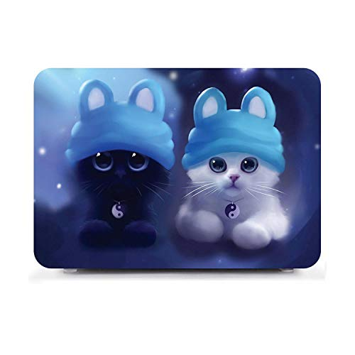 Sticker 2020 New Pro13 Cute Pattern Laptop Hard Shell Case Cover For Apple For Macbook For Air 11 For Air 13 Pro Retina Touch Bar 12 13 15 16 Inchs-Dw6-13 No Bar A1708