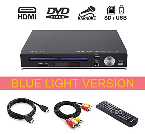Why Should You Buy DVD Player-Digital DVD Player for TV Support 1080P Full HD Come with HDMI Cable R...