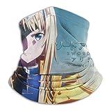 Not Applicable 12-in 1 Headbands,Sword Art Online Neck Warmer, Bandanas 16-en-1 Coupe-Vent pour L'Équitation en Plein Air