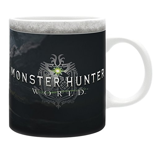 ABYstyle Abysse Corp_ABYMUG467 - Monster Hunter - Tasse 320 ml Welt