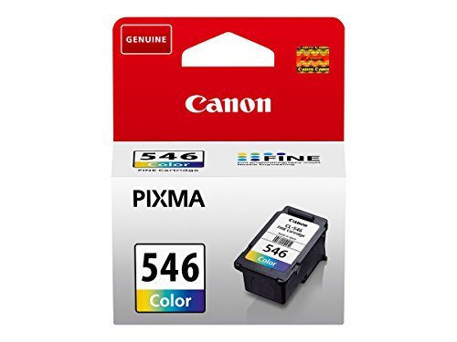 Canon Tintenpatronen CL-546 CMY Farbe - je 9 ml (cyan magenta yellow) ORIGINAL für PIXMA Drucker