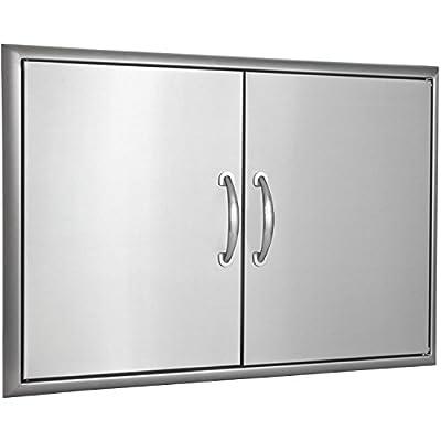 """Blaze Grills Double Access Door with Paper Towel Dispenser Size: 32"""" W"""