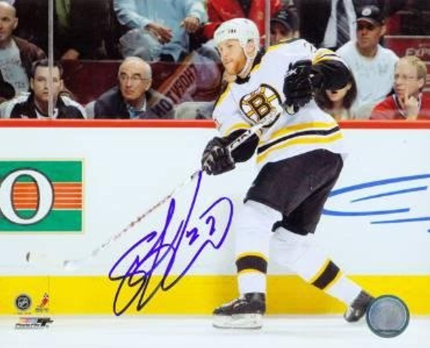 Shawn Thornton Signed Photograph  8x10  Autographed NHL Photos