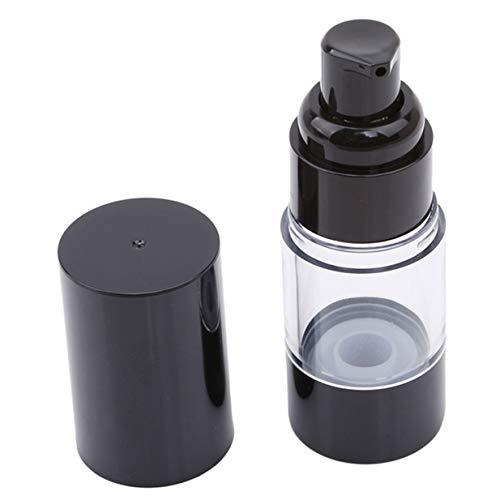 EJY Portable Airless Bouteille Emulsion Cosmétique Voyage Vide Conteneur de Stockage(15ml)