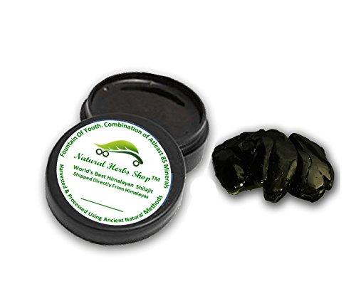 Frisch und Pure (10 Gramm) authentische Himalaya Shilajit (Sheelajit, mumiyo, Harz) Paste, aus dem Himalaya, ayurvedisches Medikament, Fulvosäure