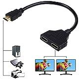 HDMI Splitter Adapter Cable HDMI Male 1080P...
