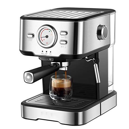 Cafetera Tipo De Bomba,1050W 20 Bar Semiautomático Cafetera para Café Capuchino,para La Oficina En Casa
