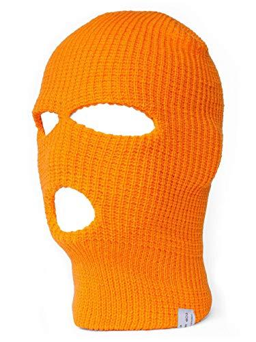 TopHeadwear - Pasamontañas para hombre naranja fluorescente Talla única