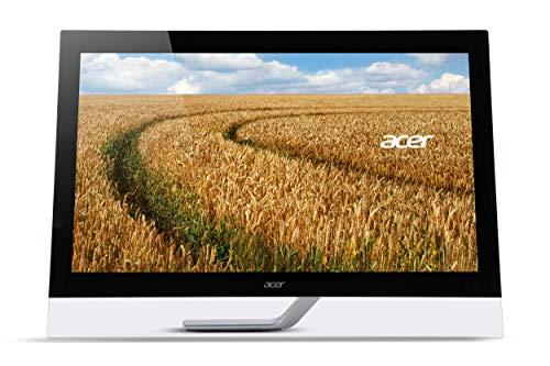 "Acer T232HLAbmjjz Monitor Multitouch da 23"", Display IPS Full HD (1920x1080), 60Hz, Formato 16:9, 100M:1, Luminosità 300 cd/m², Tempo di Risposta 4 ms, VGA, 2xHDMI, USB 3.0 Hub, Speaker Integrati"