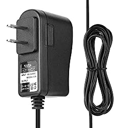 Yustda AC/DC Adapter Replacement for Sonic Boom SBB500ss Sonic Bomb Loud Plus Vibrating Alarm Clock Power Supply