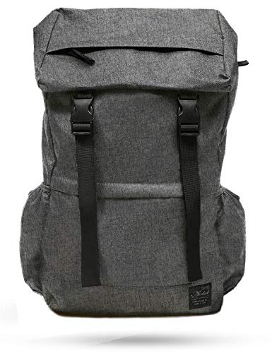 Rucksack Backpack for Travel College Hiking Camping Large Outdoor men women large lightweight Daypack Grey