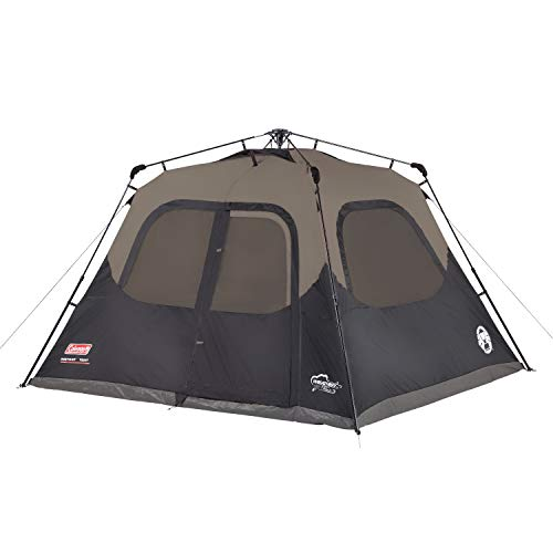 Coleman Camping Tent | 6 Person Cabin Tent with Instant Setup