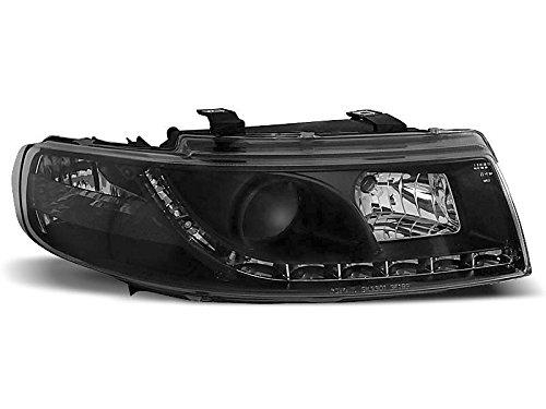 Spotlight Seat Leon/Toledo 99-04 Daylight LED zwart (E12)