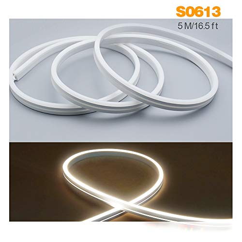 Silicone LED Channel System Suit for 8mm Flexible LED Light Strip Waterproof IP67 5m 13x6mm LED Aluminum Profile New Substitutes for Indoor Outdoor Lighting Soft Bending LED Profile