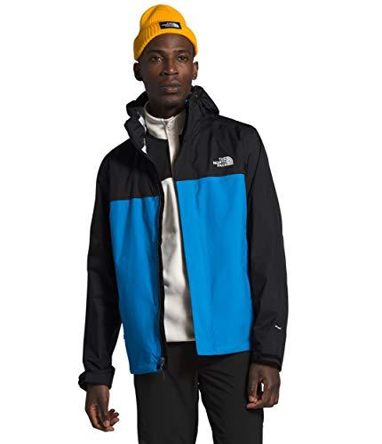 The North Face Men's Venture 2 Jacket, Clear Lake Blue/TNF Black, L
