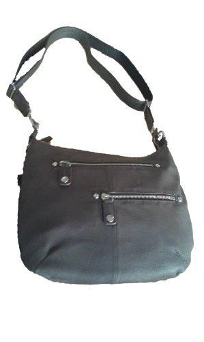 GTM Gun Tote'n Mamas Concealed Carry Chrome Zip Handbag, Brown, Small