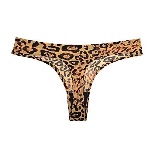 Frauen Unterwäsche EIS Seide G-String weibliches Höschen Damen Dessous Tangas Frauen Plus Größe Unterhosen-E_M
