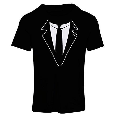 lepni.me N4591F Camiseta Mujer The Big Boss (Medium Negro Multicolor)