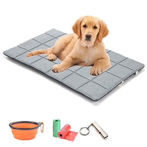 TVMALL Colchoneta para Camas para Perro Cómoda Suave Lavable Nido de Mascota Almohadilla para Perrera Manta de Cama para Perro de Gato Adecuado para Perros Grandes, Medianos y Qequeños para Dormir
