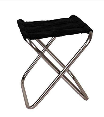 Outdoor Camping Chair Oxford Cloth Portable Folding Camping Seat Fishing Festival Picnic Beach Ultralight Chair-Gray