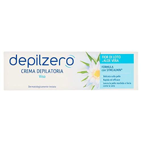 Depilzero Crema Depilatoria Viso, 50ml