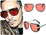 Tony Stark anteojos de sol/Iron Man anteojos de sol/Matsuda Steampunk anteojos de sol/Eleb Unisex Oversized Retro Vintage 2020 Trending