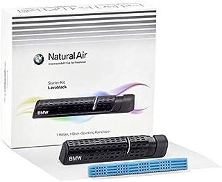 BMW Natural Air Innenraum Duft Starter Kit Lavablack + Sparkling Raindrops