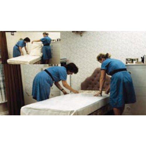 Kozee Komforts Dritech Plastic Wipe Clean Double Mattress Cover NHS Quality