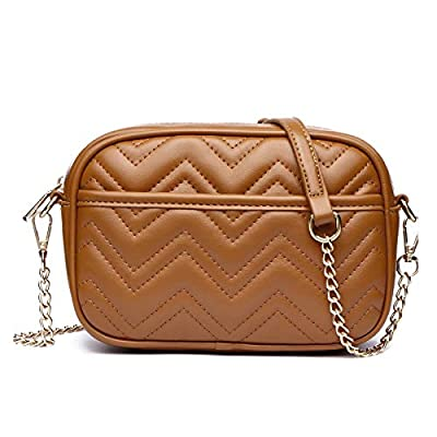 Quilted Crossbody Bags for Women, Small Crossbo...