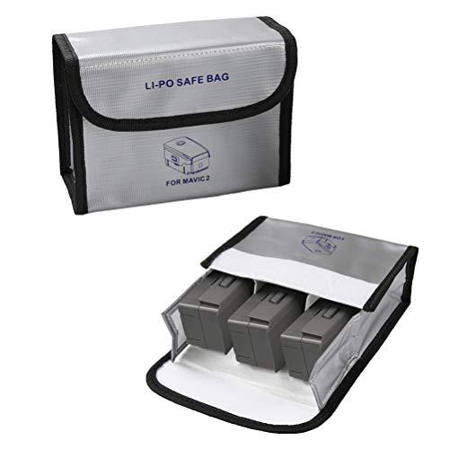 Linghuang Lipo Batterie Safe Bag per DJI Mavic 2 PRO / Zoom / Air / Mavic PRO, Custodia Antincendio a Prova di Esplosione (L)