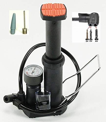 CBK-MS Mini Fupumpe 7 bar Standpumpe Fahrrad Luftpumpe
