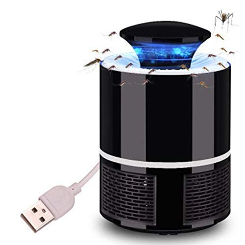 Home Ecoscandaglio elettronico Mosquito Killer Bug Zapper Trap Luce LED Insetto alimentato tramite USB