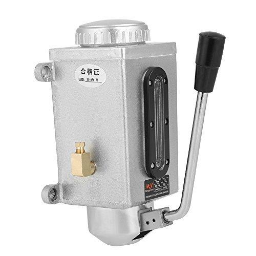 Manuelle Schmierölpumpe Handschmierung 500CC CNC 4mm Doppel Outlet Port Öler für Stanzen Drehmaschine Schneiden Fräsmaschine
