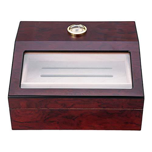 ExcLent 28X22,5X9,5 Cm Humidor Aufbewahrungsbox Schrank Luftbefeuchter Display Box