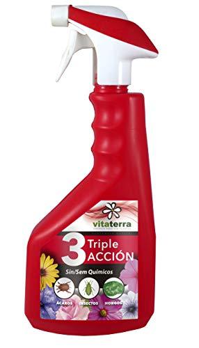 Vitaterra Triple Acción Spray 0.75 l, 40307, rojo, 25x22x20 cm