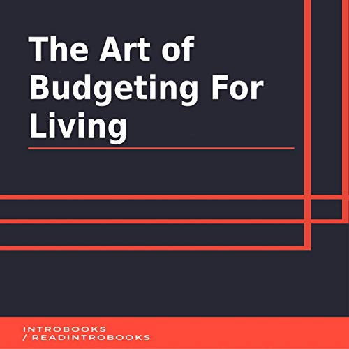 The Art of Budgeting for Living cover art