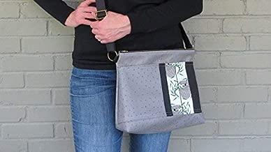 Crossbody Bag Large - Charley Harper Koala Bear Messenger Bag - KOALAkoala Fabric