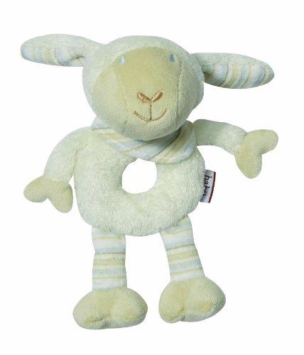 Fehn Anneau Hochet Souple Babylove Mouton