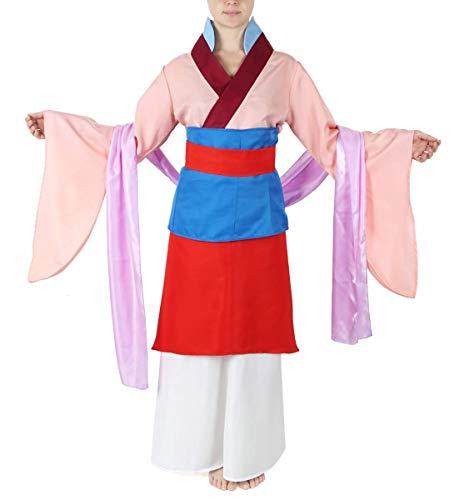CoolChange Vestido Tradicional Chino, Disfraz de Mulan, tamaño: M