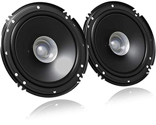 JVC CS-J610X Dual Cone Speakers Audio Stereo Sound...