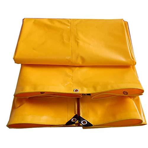 ZXL Dikker Waterdicht Zwaar Dekzeil Vloer Schaduw Cover Handdoek Geel 3 * 4M (Maat: 4.5 * 5M) 4 * 6m