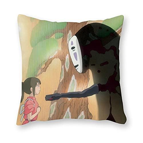 Studio Ghibli - Almohada de cojín (40 x 40 cm), diseño de arte pop