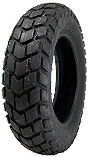 MMG Tire Size 120/90-10 Replacement for YW50 Zuma Motorcycle Scooter Tubeless (P126)