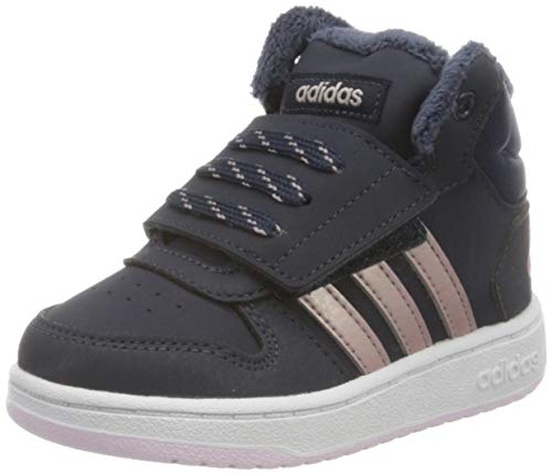 adidas Unisex-Kinder Hoops Mid 2.0 Basketballschuhe, Blau Legink/Vagrme/Trablu, 28 EU