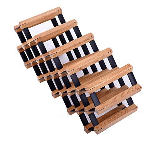 Casier À Vin En Bois Massif En Bois Salon De Vin Décoration Européenne Cabinet Restaurant Rack Peut Mettre 18 Bouteilles De Vin Rouge