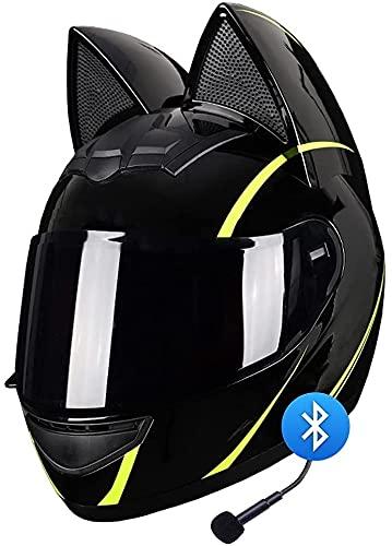 TKTTBD Casque Intégral De Moto Tout-Terrain Batman, Casque De Moto Intégral Certifié par Le Dot, Léger, Noir, Cool, Vélo Électrique, Moto De Course, Casque De Moto pour Hommes Et Femmes G,M