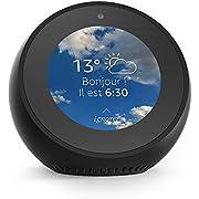 Amazon Echo Spot, Enceinte et écran connectés avec Alexa, Noir