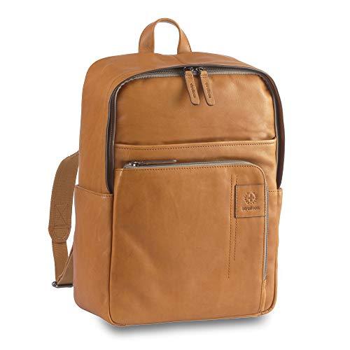 Strellson Hyde Laptop-Rucksack 14? Cognac