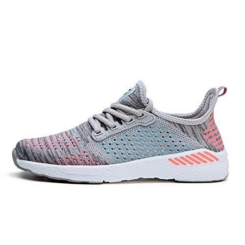 Neue Unisex-Outdoor-Polsterung Jogging-Sneaker Herren Mesh atmungsaktive Laufschuhe Damen Bequeme leichte Turnschuhe